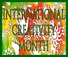 January is International Creativity Month