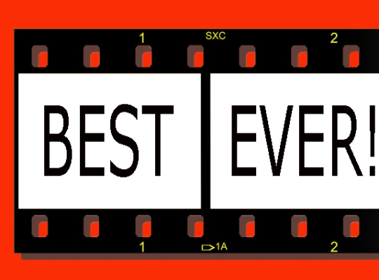 Film strip - Best Ever! showreel