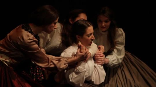 I Promise I Shall Not Play Billiards - play about Madeleine Smith, Edinburgh Fringe 2014
